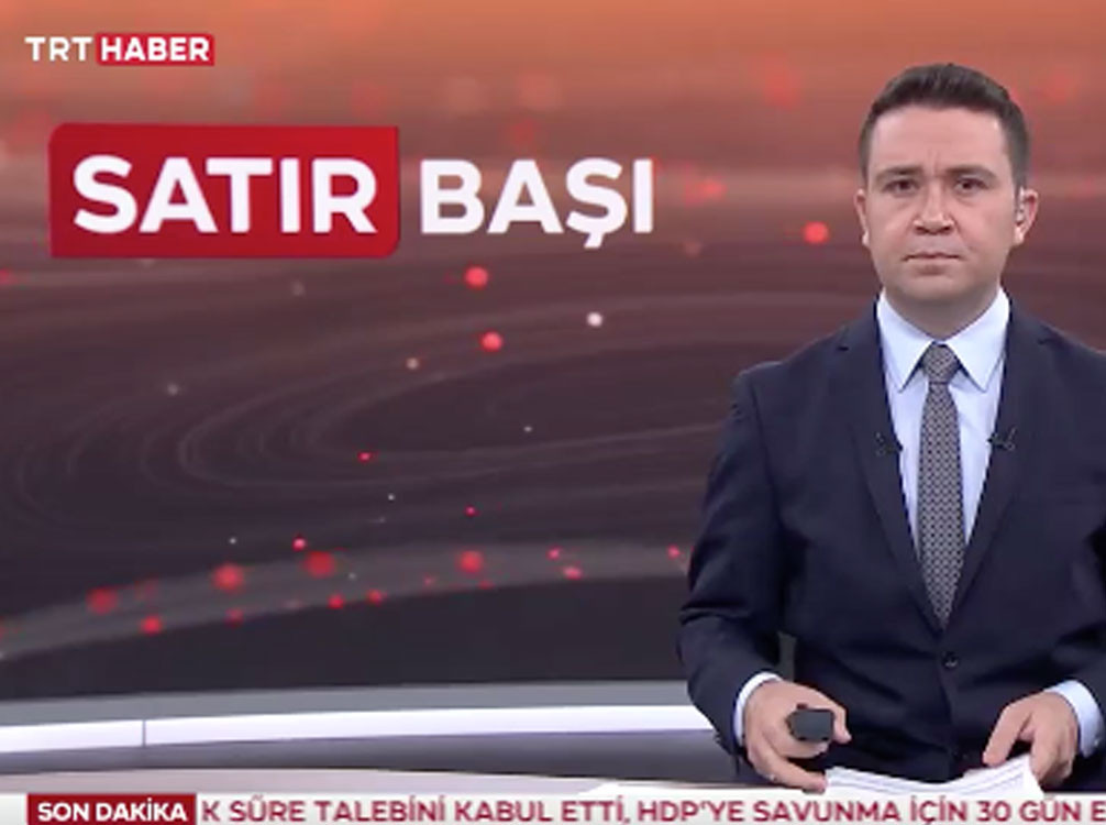 TRT haber Satır başı